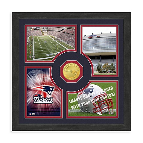 New England Patriots NFL® Fan Memories Coin Wall Frame
