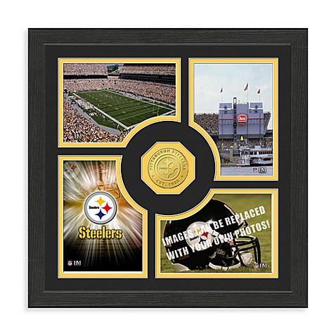 Pittsburgh Steelers NFL® Fan Memories Coin Wall Frame