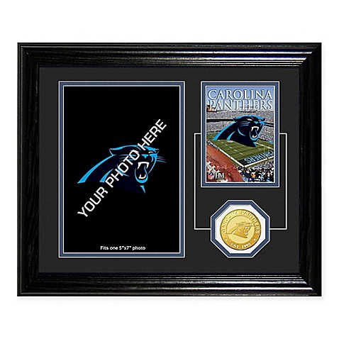 Carolina Panthers NFL® Fan Memories Coin Desktop Frame