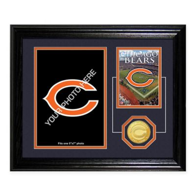 Chicago Bears NFL® Fan Memories Coin Desktop Mint Frame