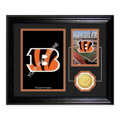 Cincinnati Bengals Fan Memories Desktop Photo Mint Frame