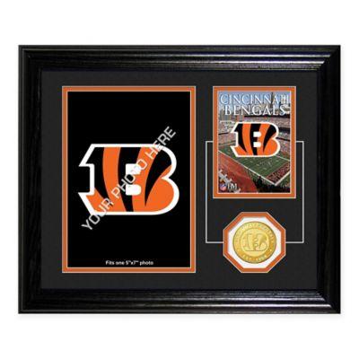 Cincinnati Bengals Fan Memories Desktop Photo Mint Frame
