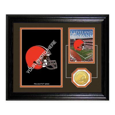 Cleveland Browns Fan Memories Desktop Photo Mint Frame