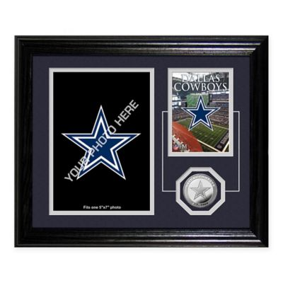 Dallas Cowboys Fan Memories Desktop Photo Mint Frame