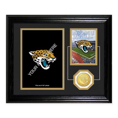 Jacksonville Jaguars Fan Memories Desktop Photo Mint Frame