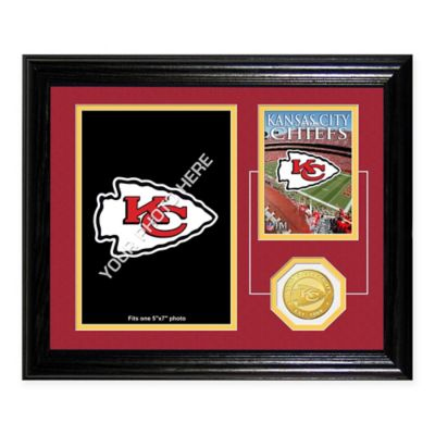 Kansas City Chiefs Fan Memories Desktop Photo Mint Frame