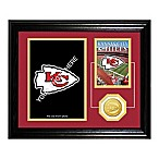 Kansas City Chiefs Fan Memories Desktop Photo Mint Frame