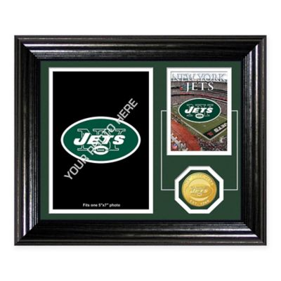 New York Jets Fan Memories Desktop Photo Mint Frame