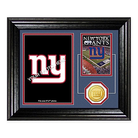 NFL New York Giants Fan Memories Desktop Photo Mint Frame