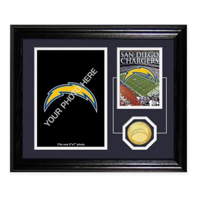 San Diego Chargers Fan Memories Desktop Photo Mint Frame