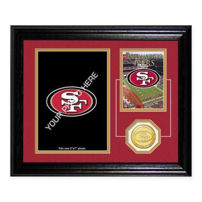 San Francisco 49ers Fan Memories Desktop Photo Mint Frame