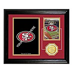 San Francisco 49ers Fan Memories Desktop Photo Mint Frame