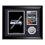 Seattle Seahawks Fan Memories Desktop Photo Mint Frame