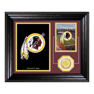 Washington Redskins Fan Memories Desktop Photo Mint Frame