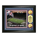 University of Arizona 13-Inch x 16-Inch Stadium Gold Coin Photo Mint Frame