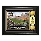 University of Colorado 13-Inch x 16-Inch Stadium Gold Coin Photo Mint Frame