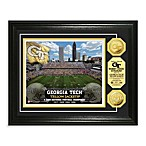 Georgia Tech Collegiate Stadium Gold Coin Photo Mint Frame
