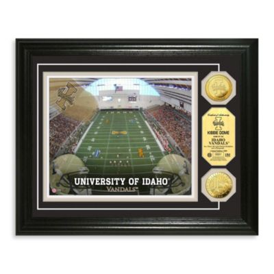 University of Idaho 13-Inch x 16-Inch Collegiate Stadium Gold Coin Photo Mint Frame