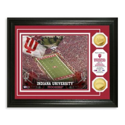 Indiana University Collegiate Home Field Gold Coin Photo Mint