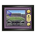 Kansas State 13-Inch x 16-Inch Collegiate Stadium Gold Coin Photo Mint Frame