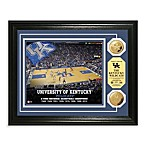 University of Kentucky 13-Inch x 16-Inch Stadium Gold Coin Photo Mint Frame
