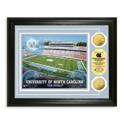 University of North Carolina Collegiate Home Field Gold Coin Photo Mint