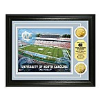 University of North Carolina 13-Inch x 16-Inch Stadium Gold Coin Photo Mint Frame