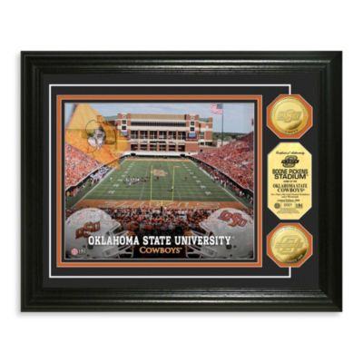 Oklahoma State Collegiate Home Field Gold Coin Photo Mint