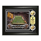 University of Tennessee 13-Inch x 16-Inch Stadium Gold Coin Photo Mint Frame