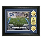 Air Force 13-Inch x 16-Inch Collegiate Stadium Gold Coin Photo Mint Frame