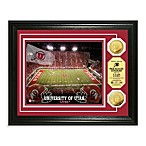 University of Utah 13-Inch x 16-Inch Collegiate Stadium Gold Coin Photo Mint Frame