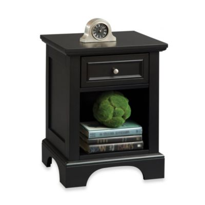 Home Styles Bedford Night Stand in Black
