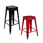 Linon Home Industrial Metal Stools