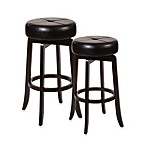 Hillsdale Rhodes Backless Swivel Barstool and Counter Stool
