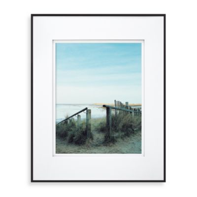 Wall Gallery Sloped Metal 16-Inch x 20-Inch Frame in Black