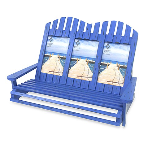 Buy adirondack chairs 3 opening 4 inch x 6 inch frame in blue from bed bath beyond - Adirondack bed frame ...