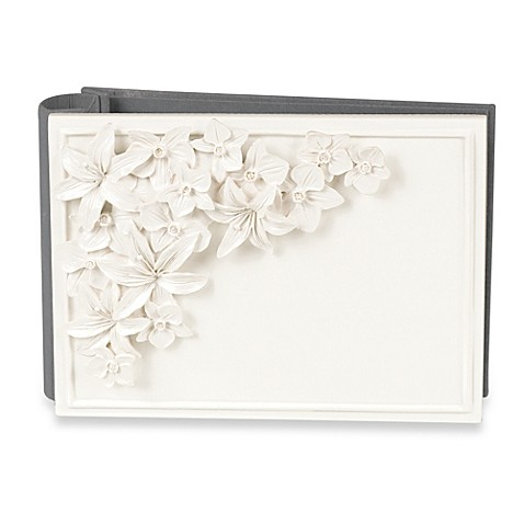 Orchid and Lily 4-Inch x 6-Inch Wedding Album