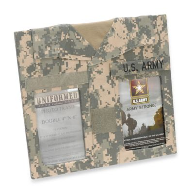 U.S. Army 4-Inch x 6-Inch Double Frame