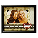 Family Scrapbook Shadowbox Frame