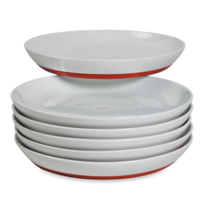 Tabletops Unlimited ™ Neo Eco Red 10-Inch Dinner Plates (Set of 6)