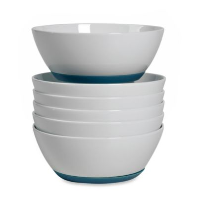 Tabletops Unlimited™ Neo Eco Blue 6-Inch Cereal Bowls (Set of 6)