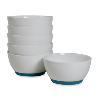 Tabletops Unlimited™ Neo Eco Blue 4-Inch Fruit Bowls (Set of 6)