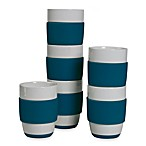 Tabletops Unlimited™ Neo Eco Blue 16-Ounce Capacity Mugs (Set of 6)