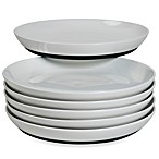 Tabletops Unlimited™ Neo Eco Black 10-Inch Dinner Plates (Set of 6)