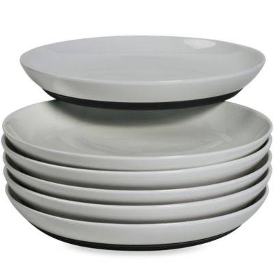 Tabletops Unlimited™ Neo Eco Black 8-Inch Salad Plate (Set of 6)