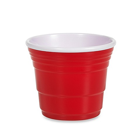 Reusable 2-Ounce Shooter Cup in Red