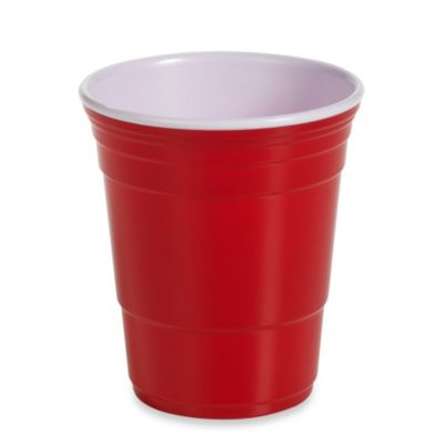 Reusable 18-Ounce Party Cup in Red