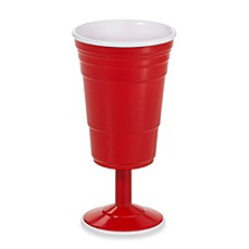 Reusable 8-Ounce Wine Cup in Red