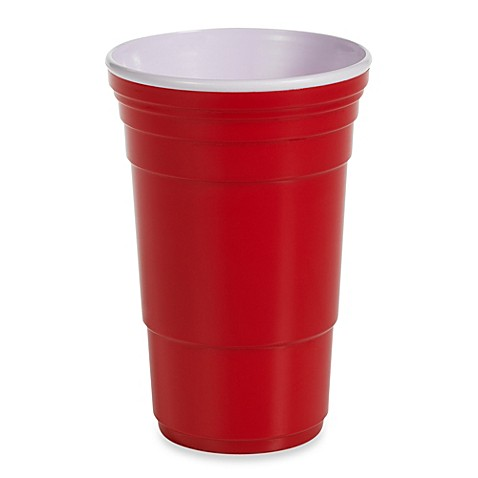 Reusable Icon XL 32-Ounce Party Cup in Red