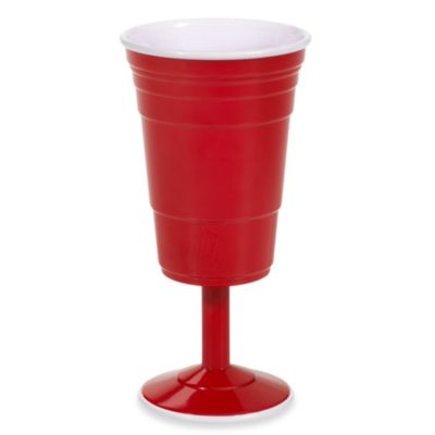 Reusable Large 14-Ounce Wine Cup in Red